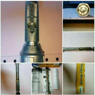 Kunci Torsi/Kunci Momen/Torque Wrench TOHNICHI Japan QL 15-MH