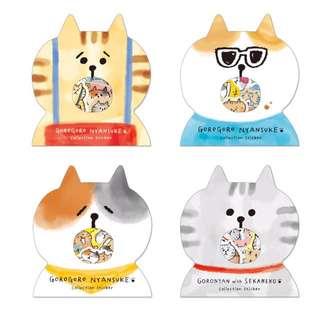 日本mindewave貓咪貼紙