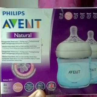 Philips Avent Natural Twin Bottles 125ml