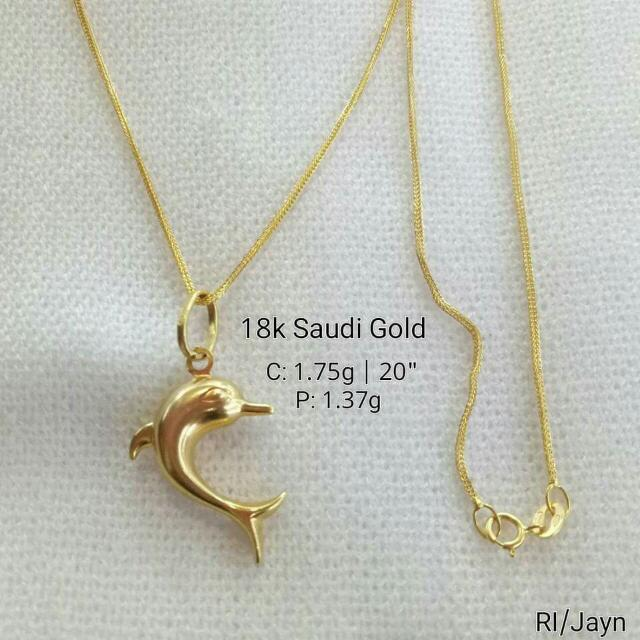 24k 22k 21k 18k 14k An Chinese Italy Saudi Gold Authentic Necklace Ring Earring Bracelet Pendant Online Preorder Women S Fashion On