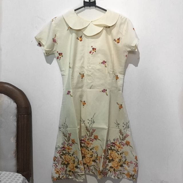 8wood Creme Dress