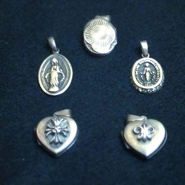 925純銀、迷你相框、墜飾