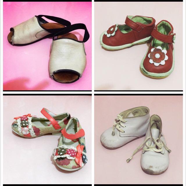 二手寶寶童鞋(四雙入)