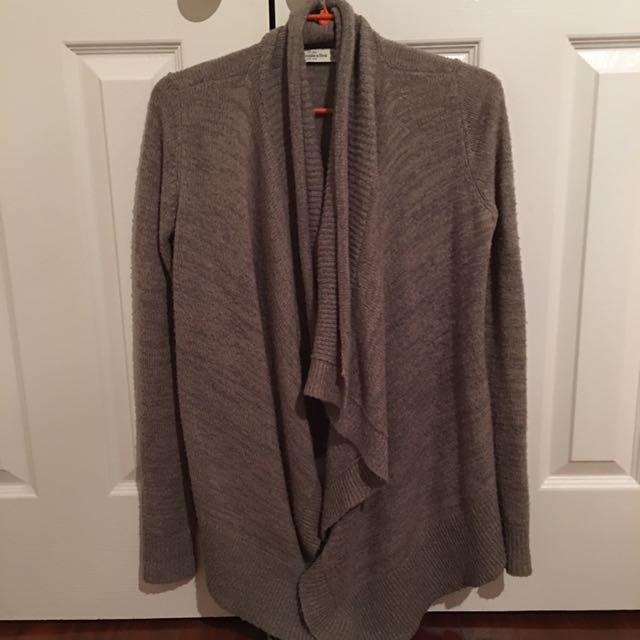 Abercrombie Waterfall Cardigan