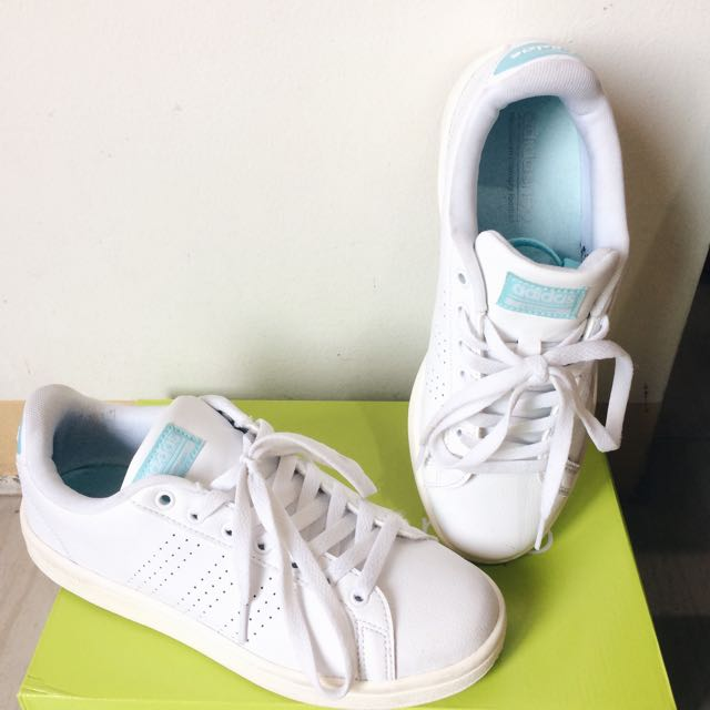 bf33a014803195 ... canada adidas neo cloudfoam advantage clean white preloved womens  fashion shoes on carousell f3dde 38c62