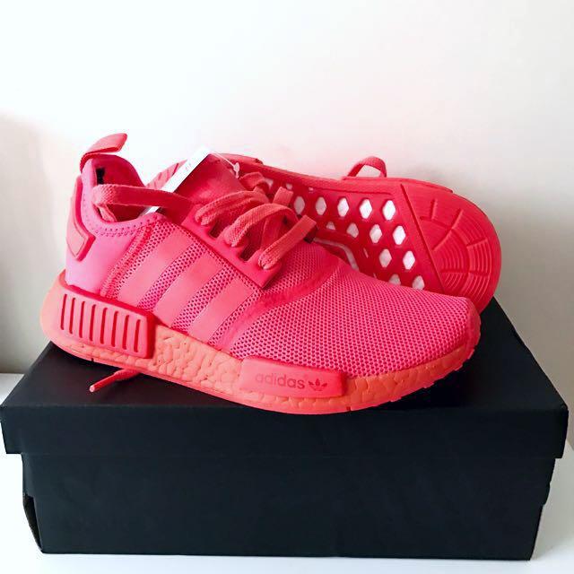 Adidas NMD Runner R1 - Solar Red Mono [Size: US 5 / EU 37.3]