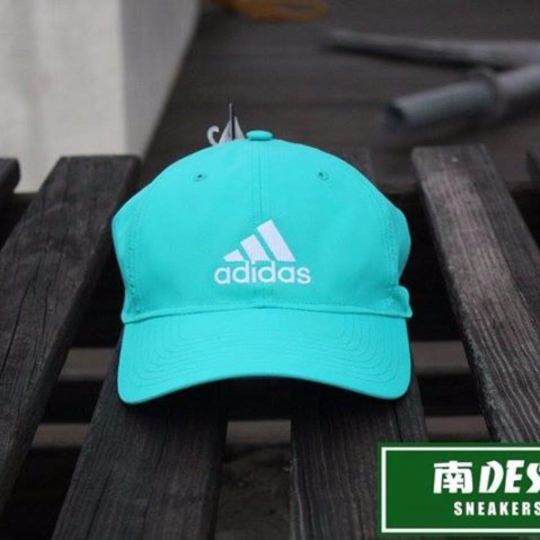 adidas老帽 tiffany馬卡龍綠 運動老帽