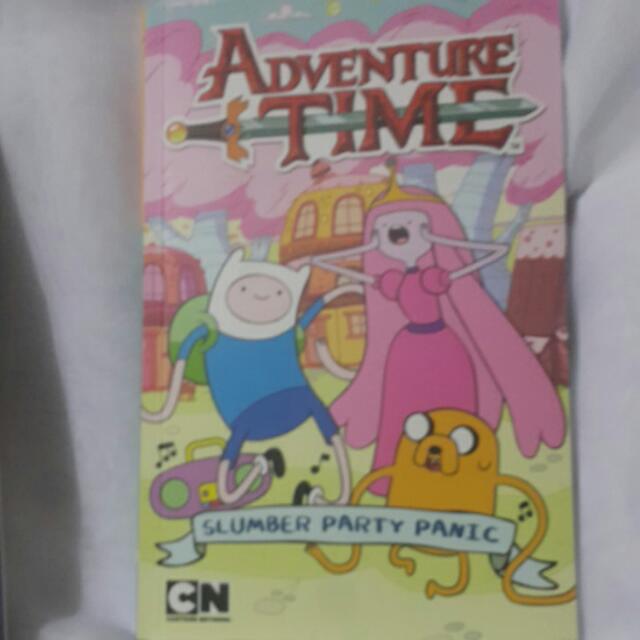 Adventure Time Slumber Party Panic