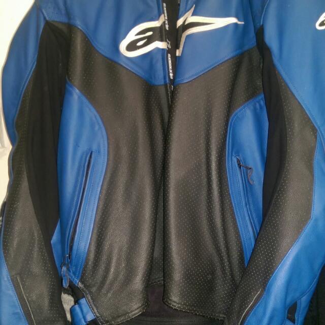 Alpinestars Leather Jacket- Make An Offer