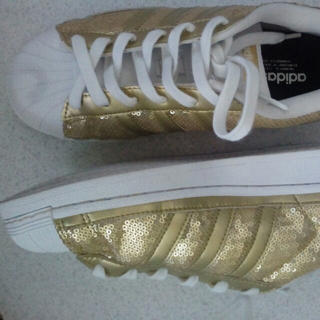 Authentic Adidas Gold