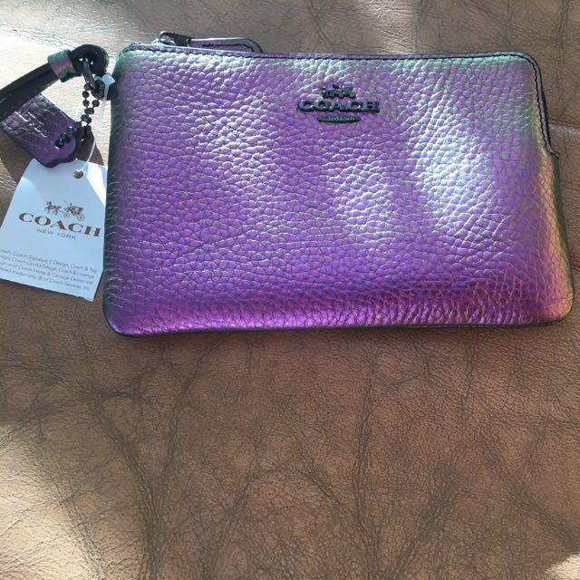 👛Authentic  COACH New York Wristlet