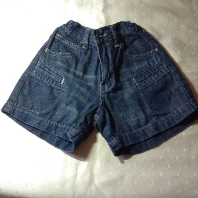 Baby's Maong Shorts