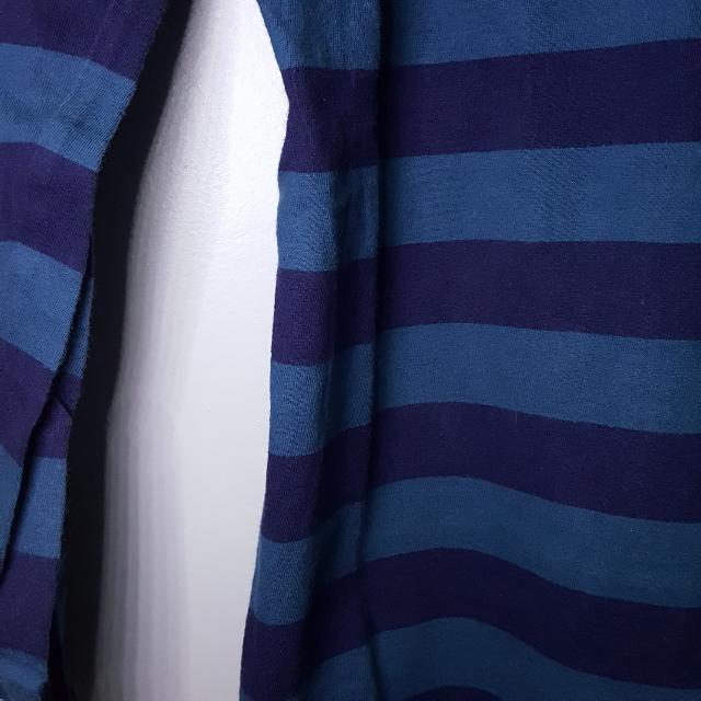 Baju Atasan Strip Biru HAMMER
