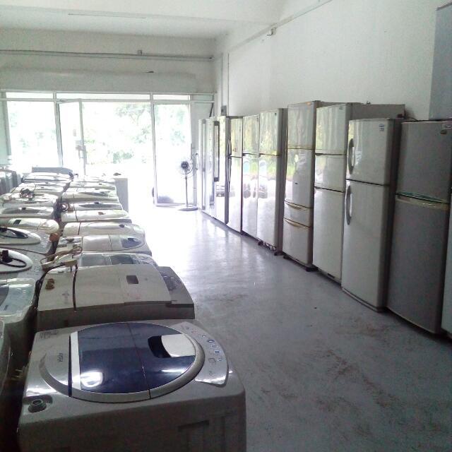 Barangan Elektrik Terpakai Peti Sejuk Mesin Basuh Peralatan Dapur