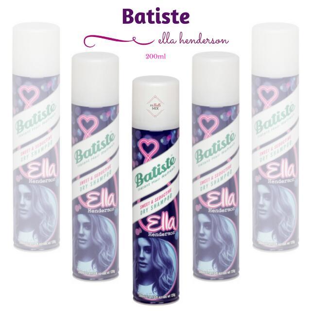 Batiste Dry Shampoo - Sweet & Seduction by Elle Henderson