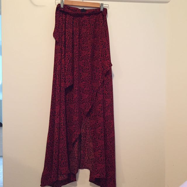 Beautiful Wrap Festival Skirt Size 8