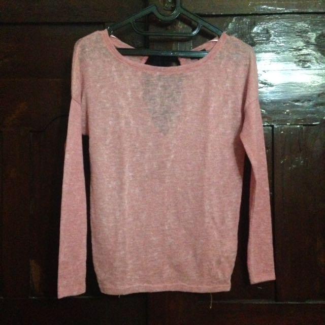 Bershka Colletion Pink Top