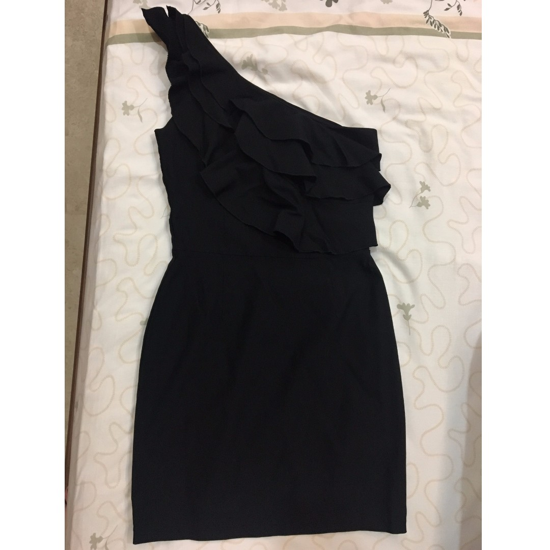 Black Dress Short