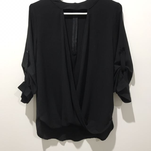Black Miracle Blouse