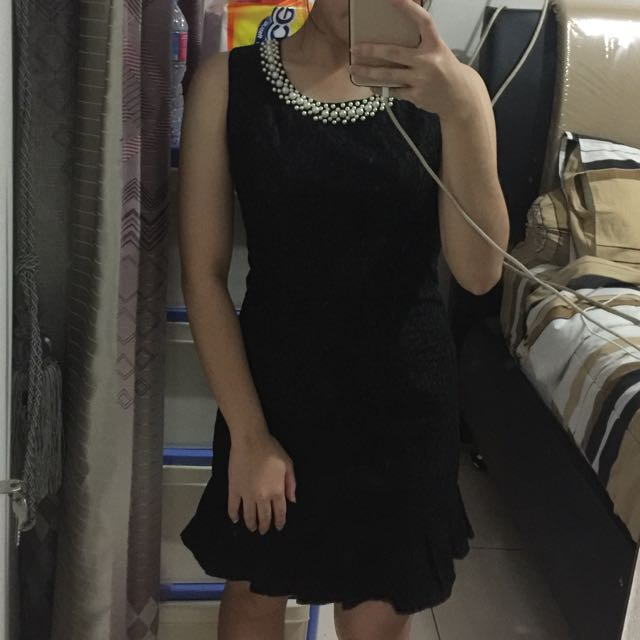 Black Pearl Formal Dress