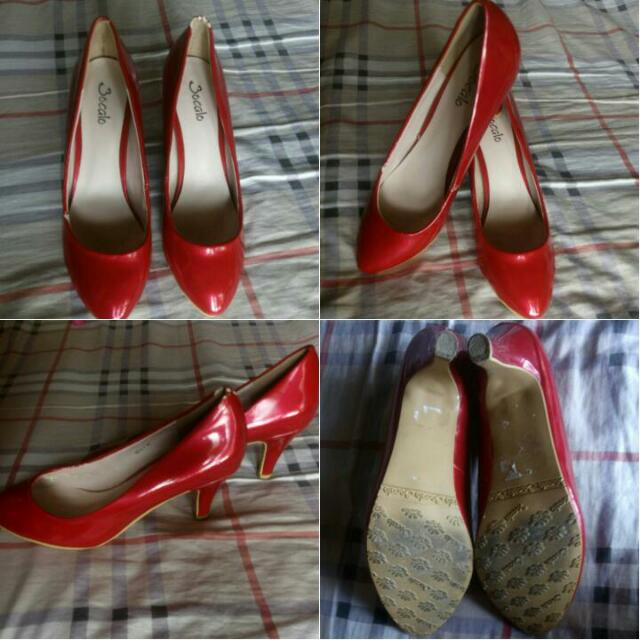RE-PRICED Bocalo Red Pumps