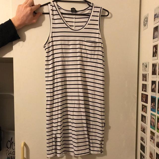 Bonds Striped Midi Dress