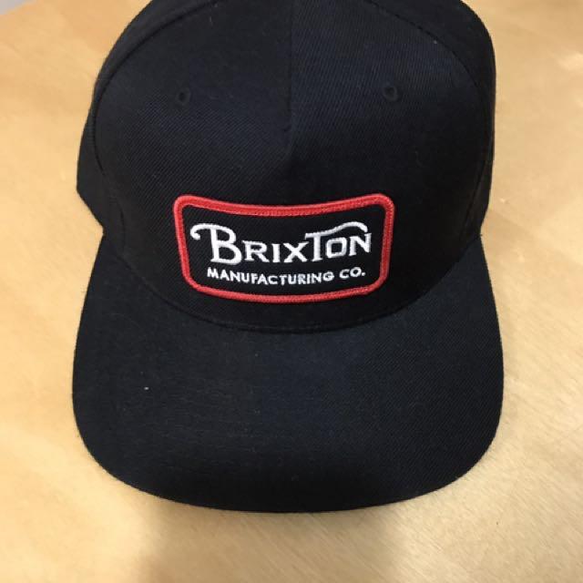 Brixton Black Snapback