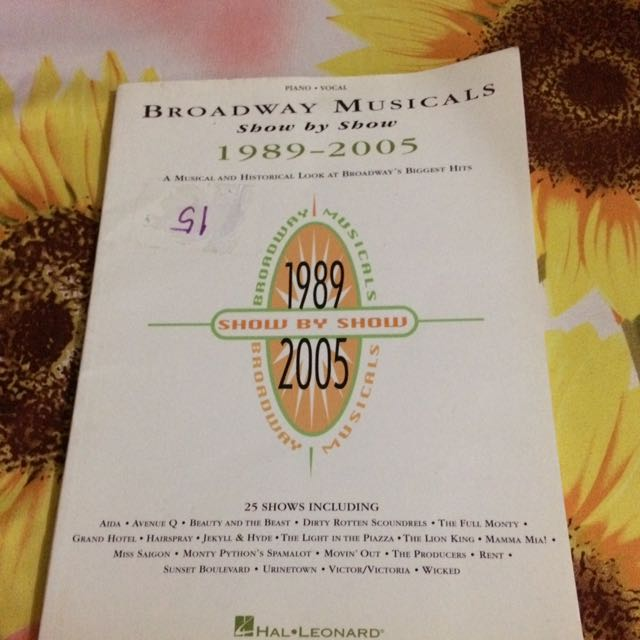 Broadway Songbook