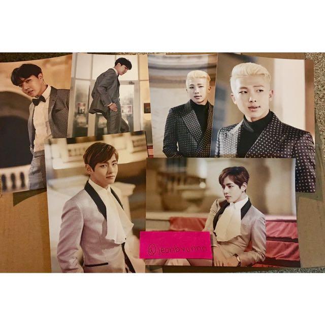 BTS Epilogue photo Sets