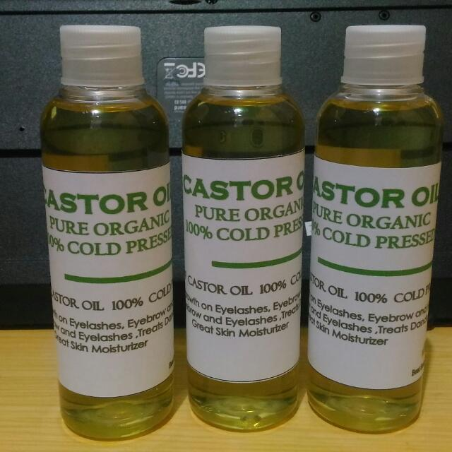 Castor Oil 100 %Pure Cold Pressed