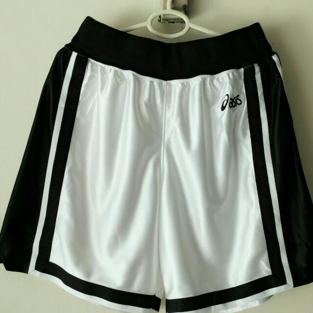 celana olahraga - celana bola - celana futsal - celana lari - celana jogging - Celana Kolor merk Asics Original