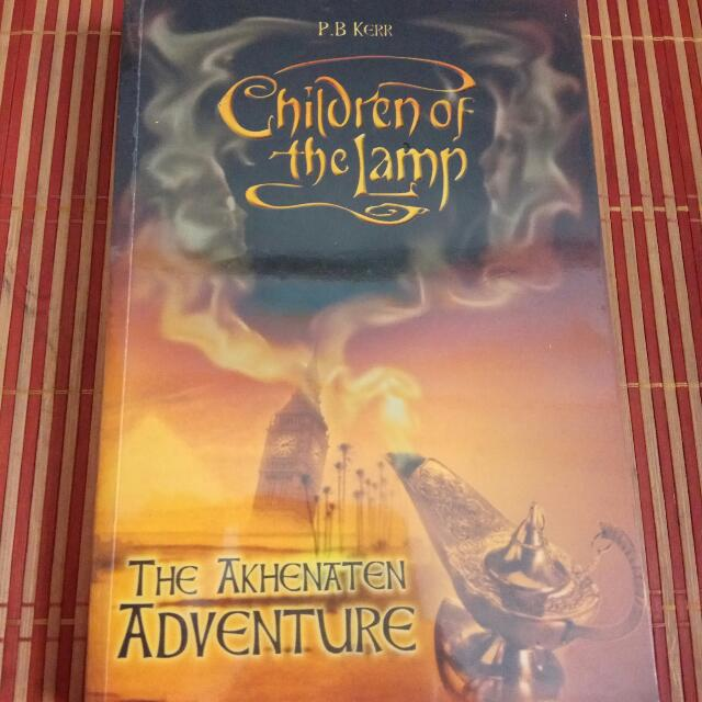 Children Of The Lamp By PB Kerr