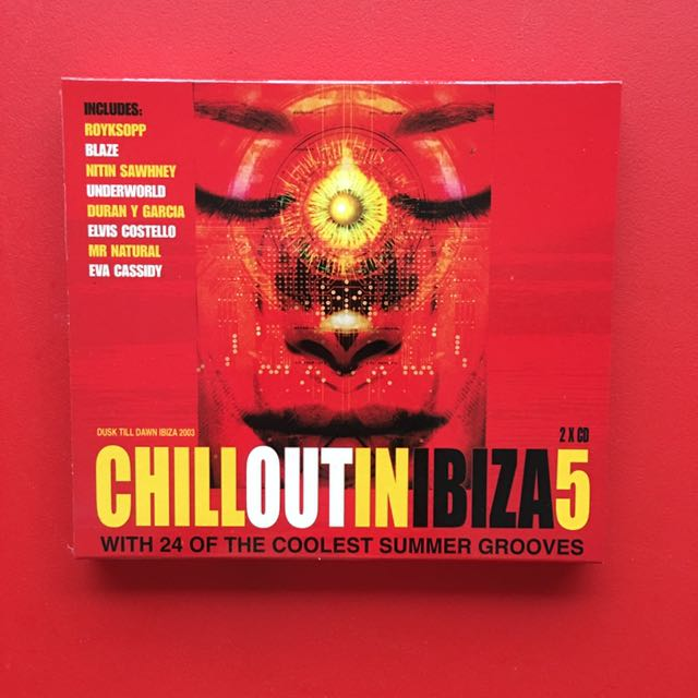 Chillout In Ibiza 5 Original Music CD