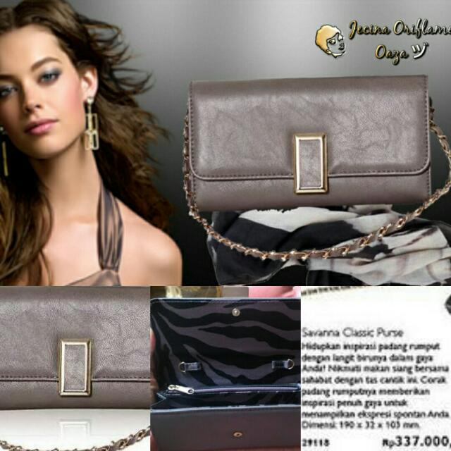 Clutch Savanna Classic Purse Oriflame