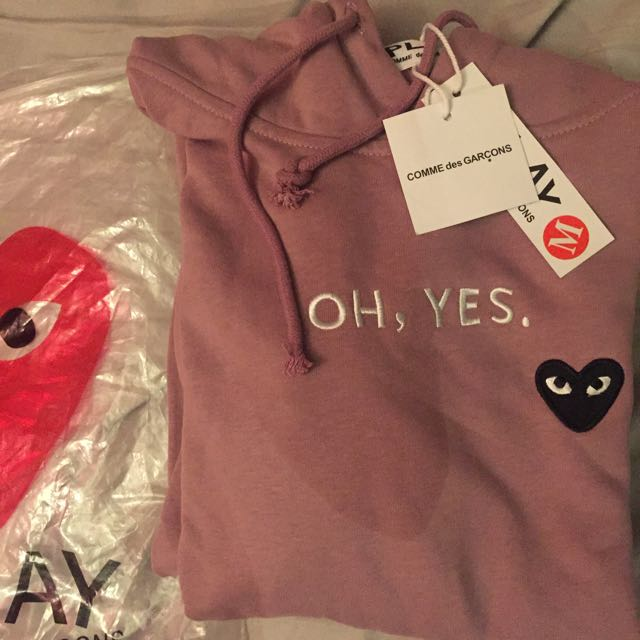 Comme Des Garcons CDG Play Hoodie