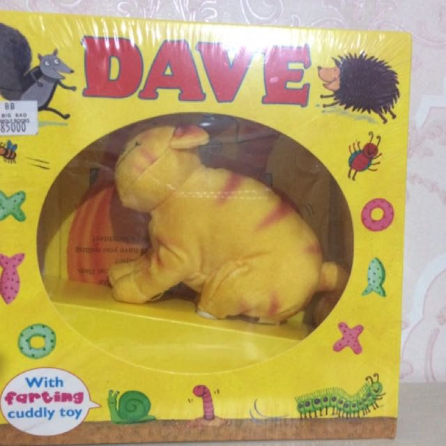 Dave Story Book & Cuddly Toy