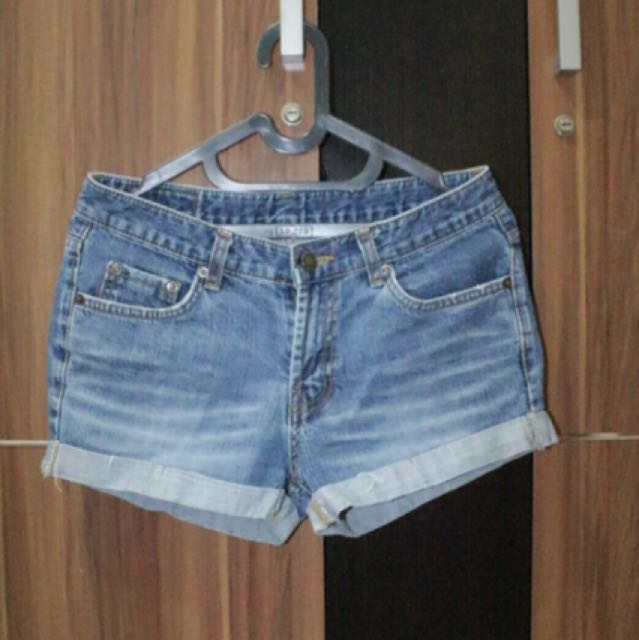 Denim short jeans