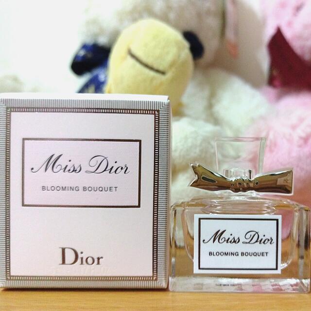 Dior 迪奧 Miss 迪奧 花漾迪奧淡香水 香精 小香5ml