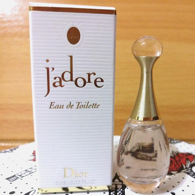 Dior迪奧 J adore Eau de Toilette 真我宣言 精巧版 淡香水 香精 小香5ml