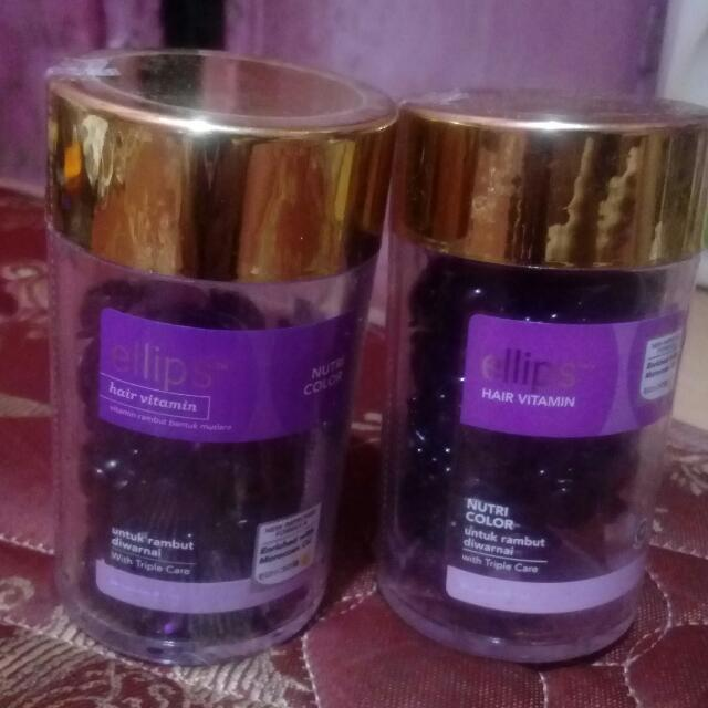 Ellips Hair Vitamin Untuk Rambut Yg D Warnai