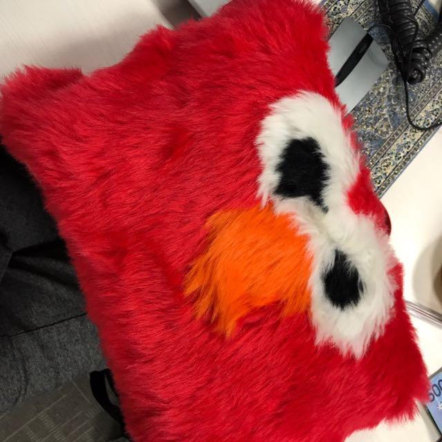 Elmo Furry Pouch