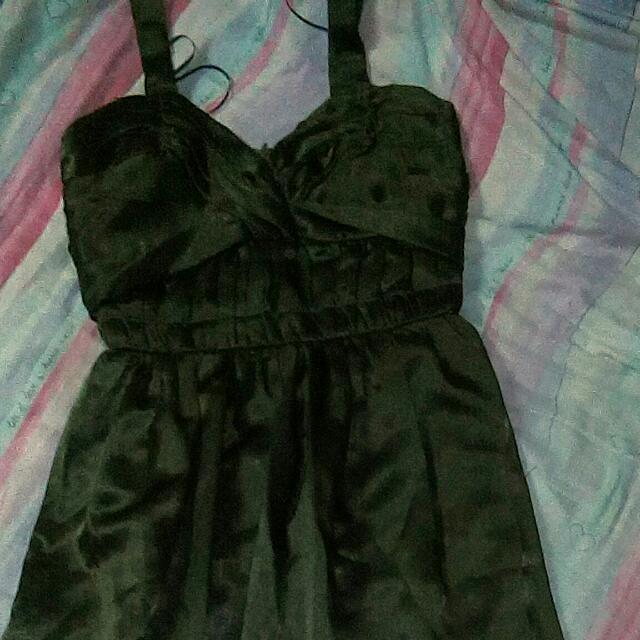 Emerald Green Long Gown