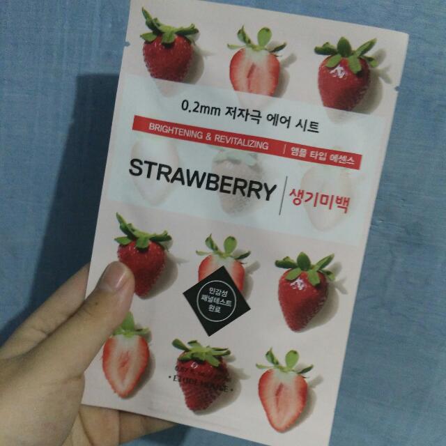 Etude House Mask Sheet Strawberry