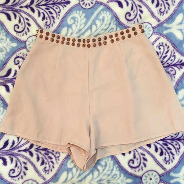 F21 Shorts. Flowy And Pretty When Worn. In Good Condition