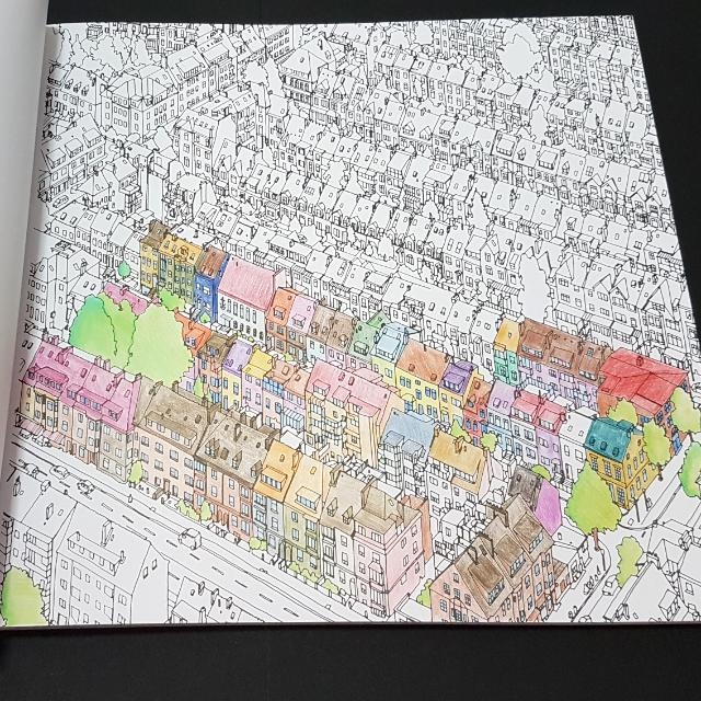 Fantastic Cities A Colouring Book Of Amazing Places Real And Imagined By Steve Mcdonald Books Stationery Fiction On Carousell