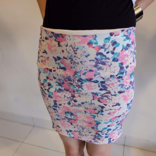 Flowers Skirt