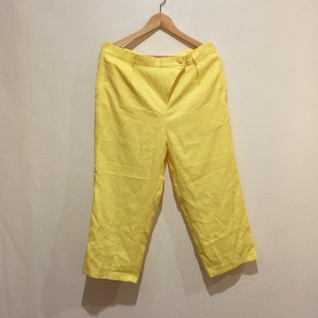 Gaudi X Andien - Yellow cullotes