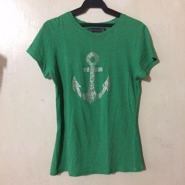 Green Zara Shirt