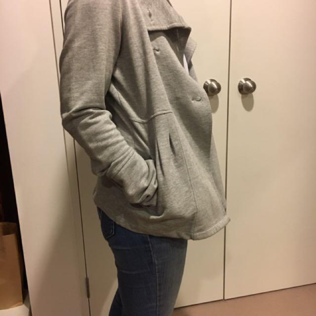 Grey Blazer Type Jacket