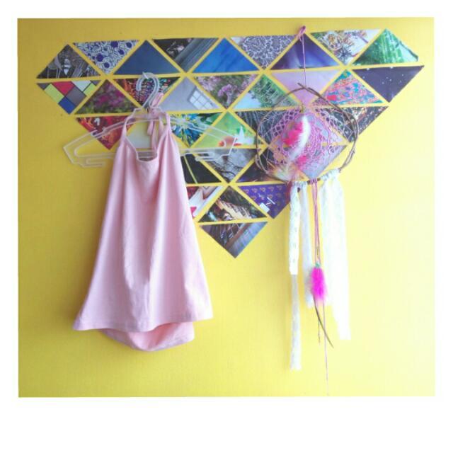 Halter Top (Baby Pink)